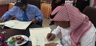 «السعودية للتموين» تفتتح برامج التدريب في كلية السياحة والفندقة وتوظف الخريجين