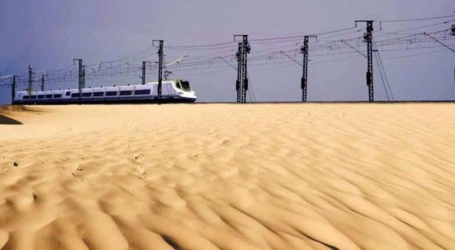 قطاع السكك الحديدية