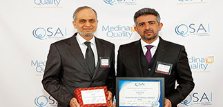 Dammam Unit at Saudi Airlines Catering wins QSAI Award